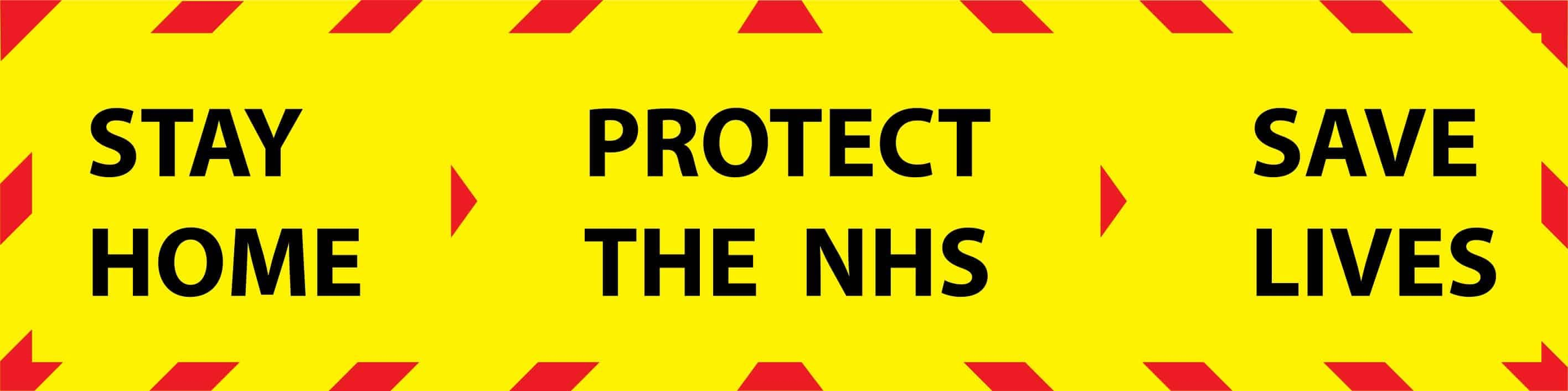 Protect the NHS message