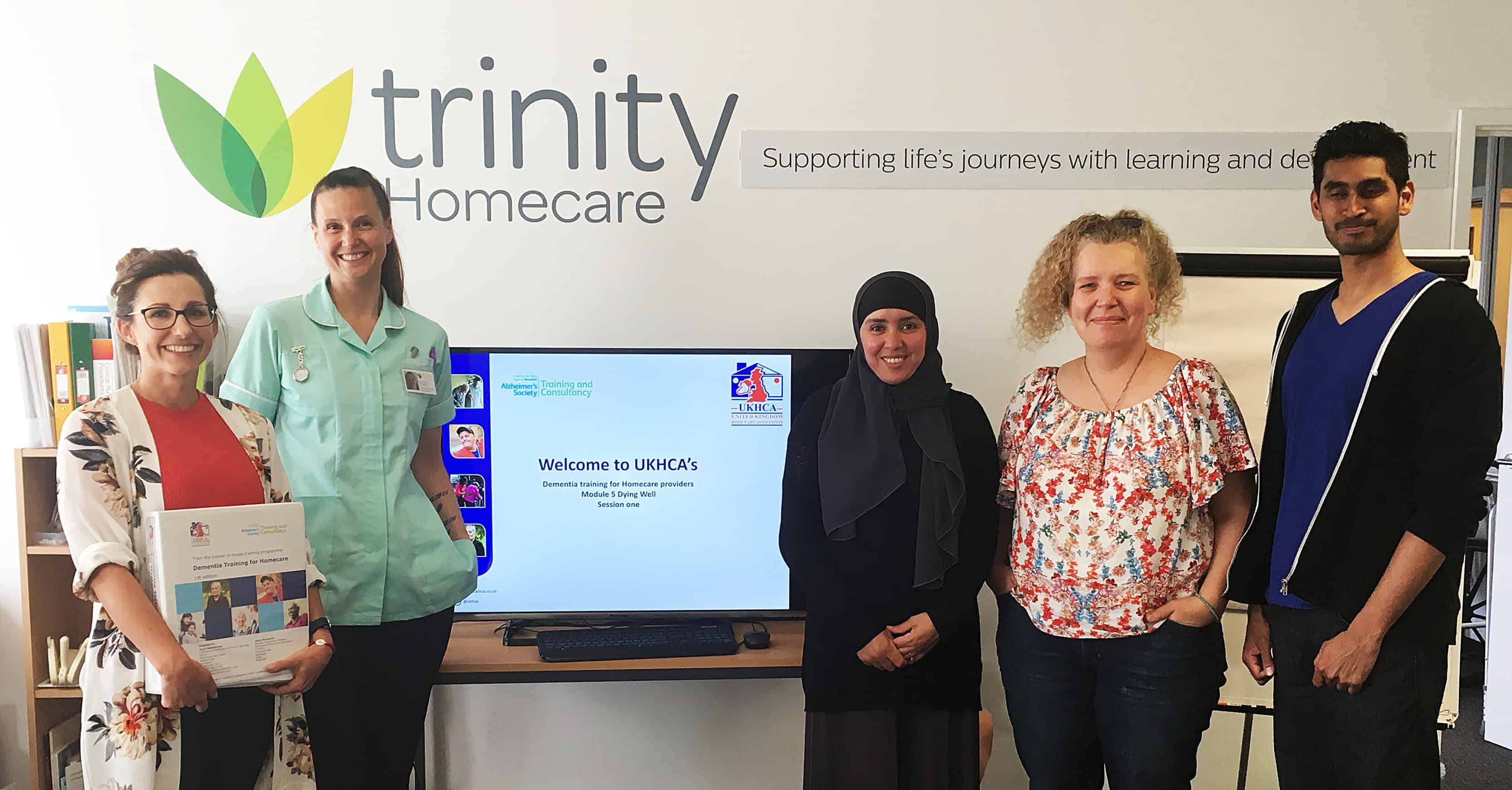 Dementia training with Trinity Homecare