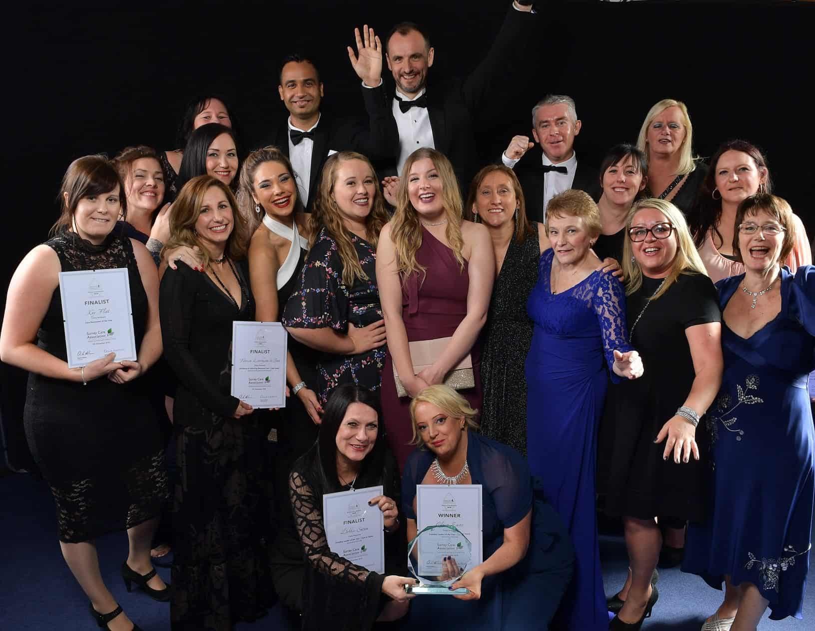 Award-winning care Surrey Care Awards 2018