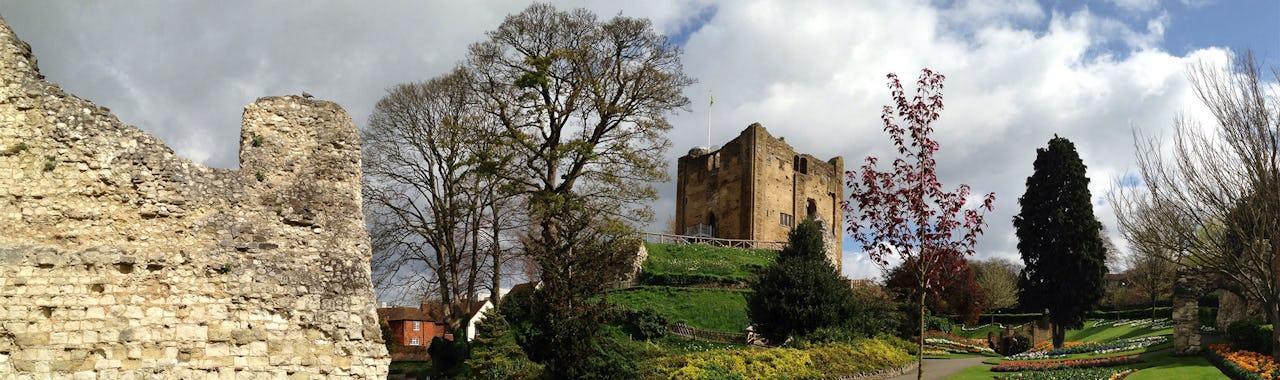 Guildford castle in Guildford