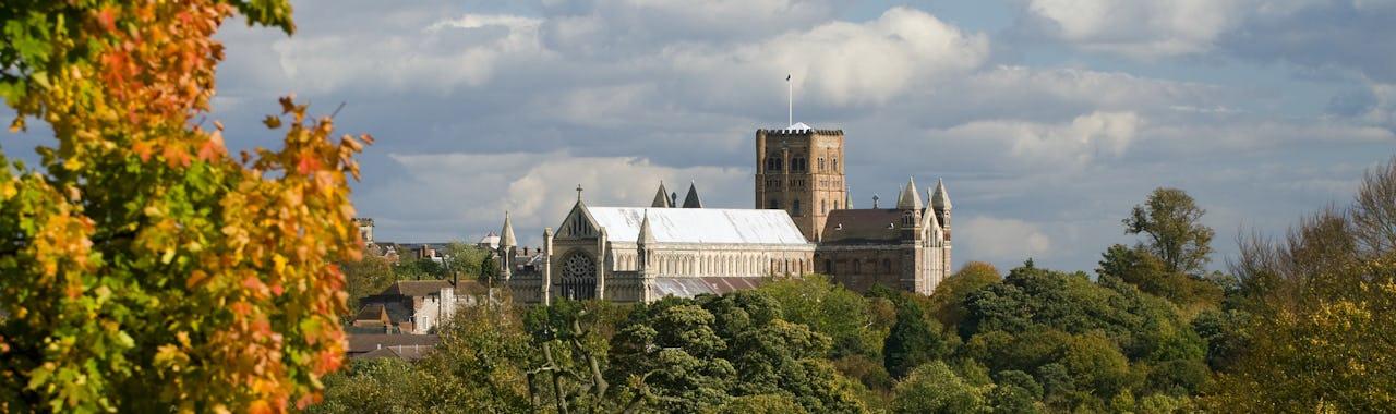 Hertfordshire, St. Albans Abbey