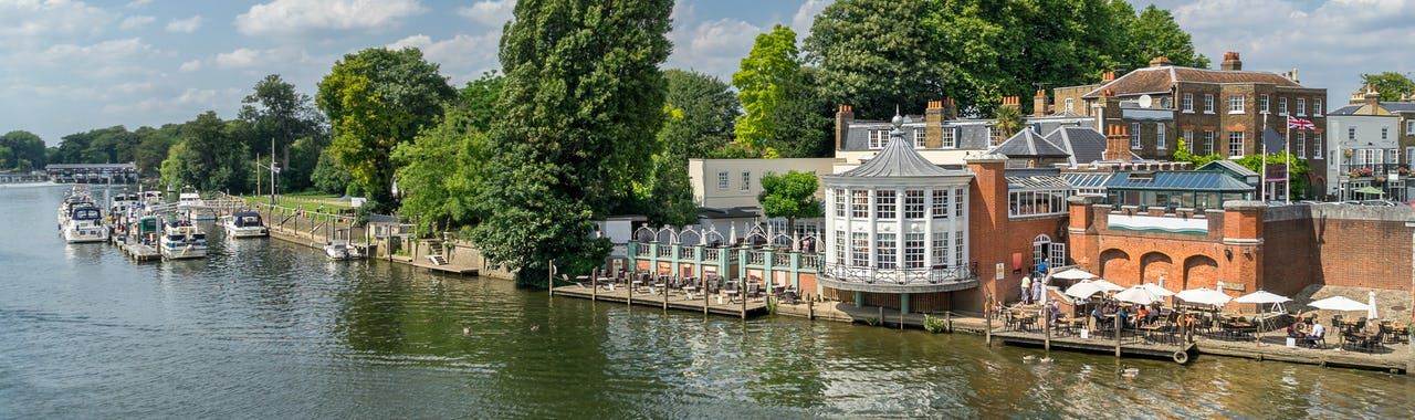 Kingston Upon Thames, The River Thames in the west of London