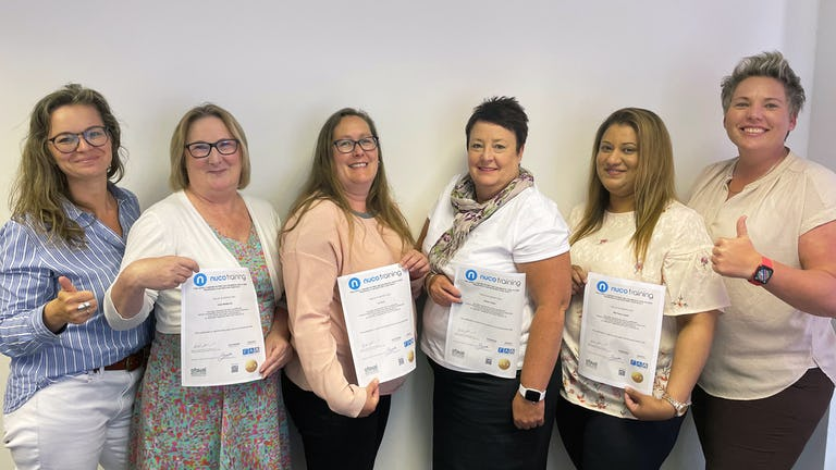 Trinity Homecare staff that have completed the Mental Health First Aid Trsining